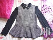 Black And White Champagne Blouse | Clothing for sale in Central Region, Kampala