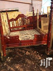 5by6 Spindle Bed at Good Price. Delivery Is Free in Kampala | Furniture for sale in Central Region, Kampala