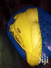 Yellow Fila Shoes | Shoes for sale in Central Region, Kampala