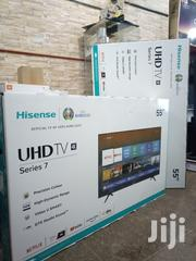 Hisense Smart Uhd(4K) Digital Flat Screen TV 55 Inches | TV & DVD Equipment for sale in Central Region, Kampala