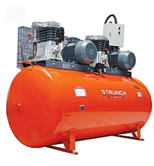 Staunch Air Compressor 50litres - Orange