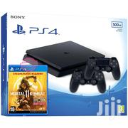 New PS4 Slim With 2 Controllers And MK 11 Disc | Video Game Consoles for sale in Central Region, Kampala