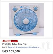 Portable Box Table Fan. | Home Appliances for sale in Central Region, Kampala
