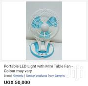 Portable LED Light With Mini Table Fan | Home Appliances for sale in Central Region, Kampala
