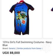 10 Yrs Girls Swimming Costume -Navy Blue | Children's Clothing for sale in Central Region, Kampala