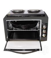 Blueflame BF-0125 Mini Oven With 2 Hot Plates, 40 Litre - Black | Restaurant & Catering Equipment for sale in Central Region, Kampala