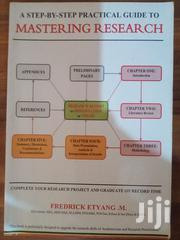 MASTERING RESEARCH. Hardcover Book On Sale. | Books & Games for sale in Central Region, Kampala