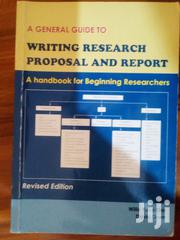 Writing Research Proposal And Report. Hardcover Book On Sale. | Books & Games for sale in Central Region, Kampala