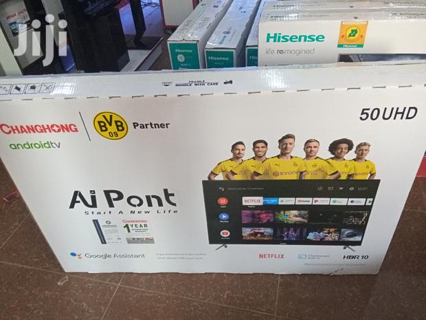 Brand New Changhong Smart 4K UHD Android TV 50 Inches