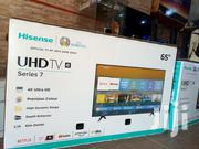 Hisense 65 Inches Smart Uhd(4K) Android Flat Screen TV | TV & DVD Equipment for sale in Central Region, Kampala