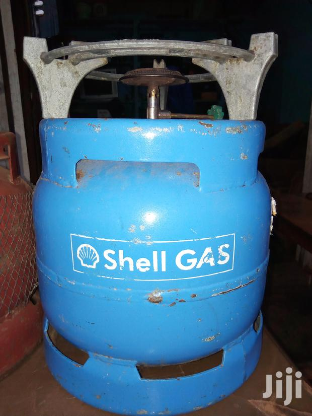 Shell Gas Cylinder Full Set Empty