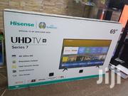 Hisense 65 Inches 4K Uhd Ultra Slim Flat Tvs | TV & DVD Equipment for sale in Central Region, Kampala