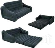Pull Out Leather 2 in 1 Inflatable Sofa and Mattress | Furniture for sale in Central Region, Kampala