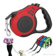 Retractable Dog Leash + Strong Collar | Pet's Accessories for sale in Central Region, Kampala