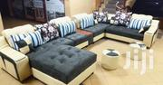 U Sofa and 2 Poufs. | Furniture for sale in Central Region, Kampala