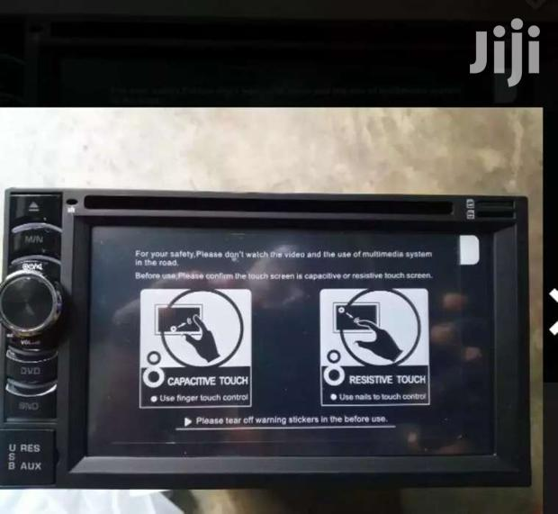 RESISTIVE TOUCH SCREEN RADIO