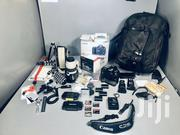 Canon 5D Mark III DSLR W/ Battery Grip + Bag Of Extras | Accessories & Supplies for Electronics for sale in Nothern Region, Lira