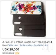A Pack of 3 Phone Covers for Tecno Spark 4 | Accessories for Mobile Phones & Tablets for sale in Central Region, Kampala