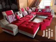 U Sofa and 2 Poufs | Furniture for sale in Central Region, Kampala