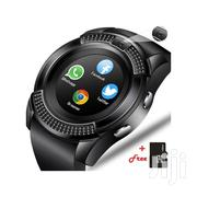Brandnew V-series Smart Watch With Free Memory Card | Smart Watches & Trackers for sale in Central Region, Kampala