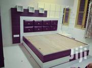5×6 Bed With Leather Head Board | Furniture for sale in Central Region, Kampala