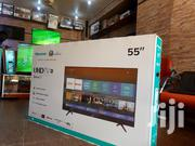 Hisense 2020 Smart Android Uhd 4K Flat Screen TV 55 Inches | TV & DVD Equipment for sale in Central Region, Kampala