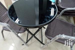 Foldable Glass Table