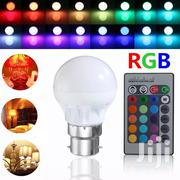 3W RGB Led 16 Color Changing Bulb Energy Saving Cool Light Bulb   Home Accessories for sale in Central Region, Kampala