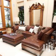Pure Leather Sofa Made on Special Orders | Furniture for sale in Central Region, Kampala