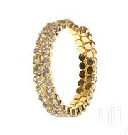 Party Crystal Double Bangle, Gold, Diamond | Jewelry for sale in Central Region, Kampala
