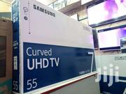 SAMSUNG CURVE 55 SMART 4K DIGITAL, 2019 Model | TV & DVD Equipment for sale in Central Region, Kampala
