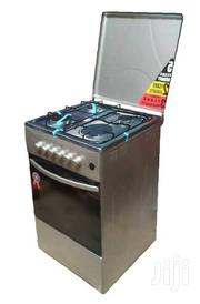 3 Gas Burner Cooker + 1 Electric Plate Oven - Silver | Restaurant & Catering Equipment for sale in Central Region, Kampala