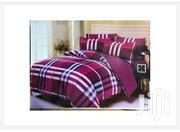 5x6 Checked Duvet Set With 1 Bed Spread and 2 Pillow Cases | Furniture for sale in Central Region, Kampala