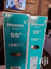 Brand New Hisense Smart Uhd 4k Tv 55 Inches | TV & DVD Equipment for sale in Central Region, Kampala