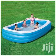 Movable And Portable Swimming Pool - White,Blue | Babies & Kids Accessories for sale in Central Region, Kampala