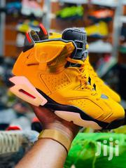 Jordan Yellow & Green Sneakers | Shoes for sale in Central Region, Kampala