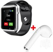 A-series Advanced Touch Screen Phone Unisex Smart Watch - Black | Smart Watches & Trackers for sale in Central Region, Kampala