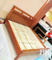 Natural Wood Mahogany Bed | Furniture for sale in Central Region, Kampala
