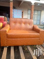 5seater Leather Sofa | Furniture for sale in Central Region, Mukono