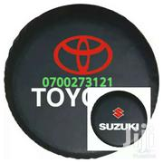 Leather Suzuki And Toyota Spare Tyre Cover | Vehicle Parts & Accessories for sale in Western Region, Kisoro