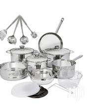 18 Pieces Stainless Steel Cookware | Kitchen & Dining for sale in Central Region, Kampala