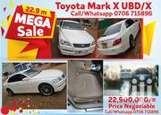 Toyota Mark X UBD   Vehicle Parts & Accessories for sale in Central Region, Kampala