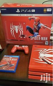 Sony Playstation 4 Pro Limited Edition Marvel's Spider Man 1TB Red | Video Game Consoles for sale in Central Region, Kampala