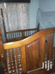 A Good Mahogany Bed   Furniture for sale in Central Region, Wakiso