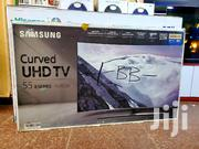 Samsung 55inch Curve Uhd 4k Tv Series 8 | TV & DVD Equipment for sale in Central Region, Kampala