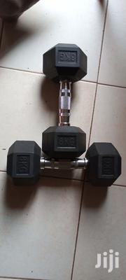 Pair Of 8kg Dumbells At 10k Each Kilo | Sports Equipment for sale in Central Region, Kampala