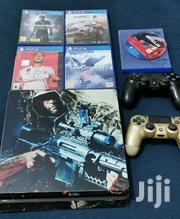 PS4 Console And Two Controllers   Video Game Consoles for sale in Central Region, Kampala