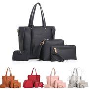 YM New Ladies Bag Fashion Cobblestone Four-piece Mother Bag | Bags for sale in Central Region, Kampala