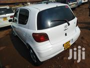 Toyota Vitz 2001 White   Cars for sale in Central Region, Kampala