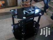 Black Tv Glass Stand | Furniture for sale in Western Region, Kisoro